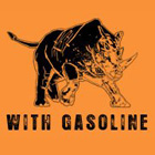 With Gasoline